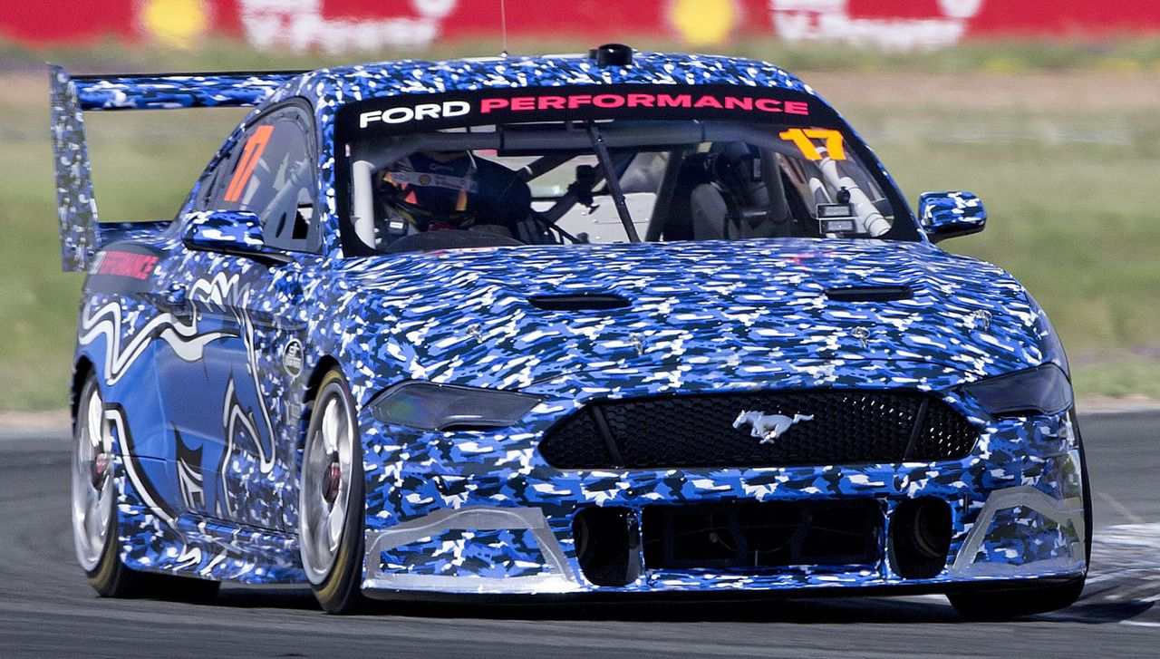 FordMustang Supercar, 2019. Ford Australia, DJR Penske, Tickford Racing, and Ford Performanceha