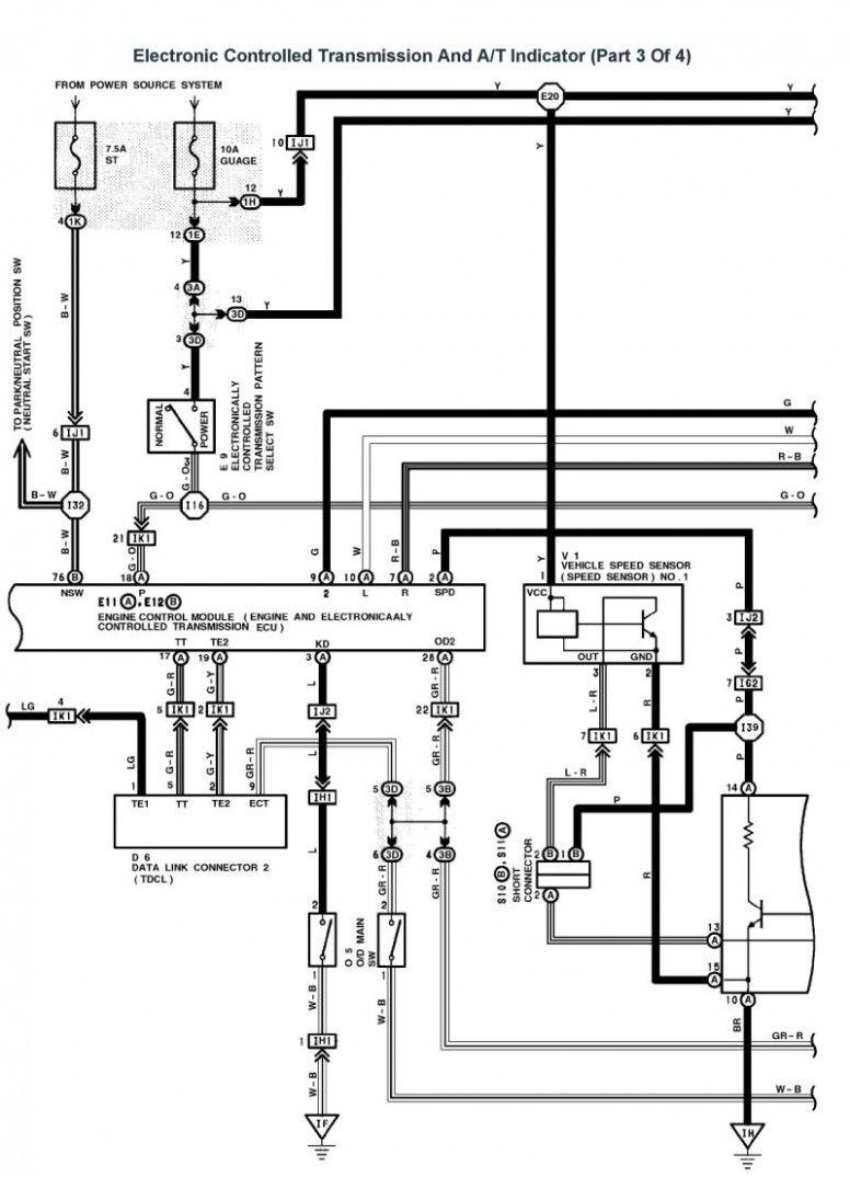 Lexus V4 Engine Wiring Diagram In 2020