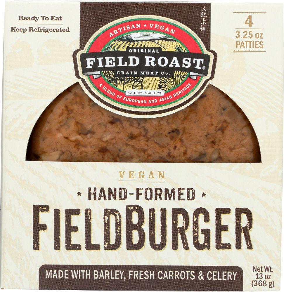 Field Roast HandFormed Fieldburger Patties, 13 Oz in