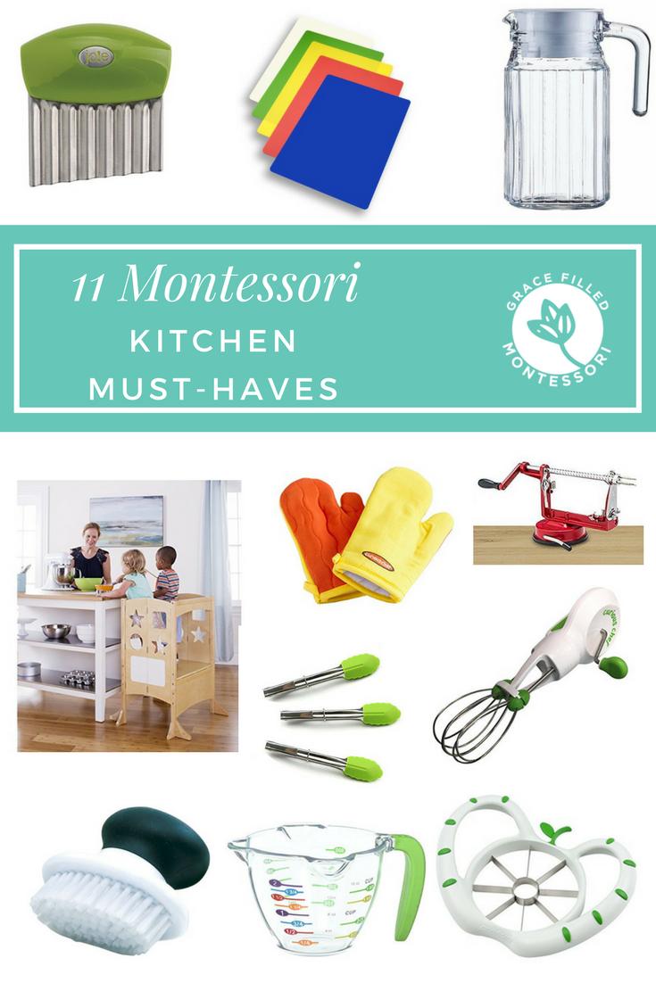 11 Kitchen Montessori Must-Haves   Montessori, School resources and ...