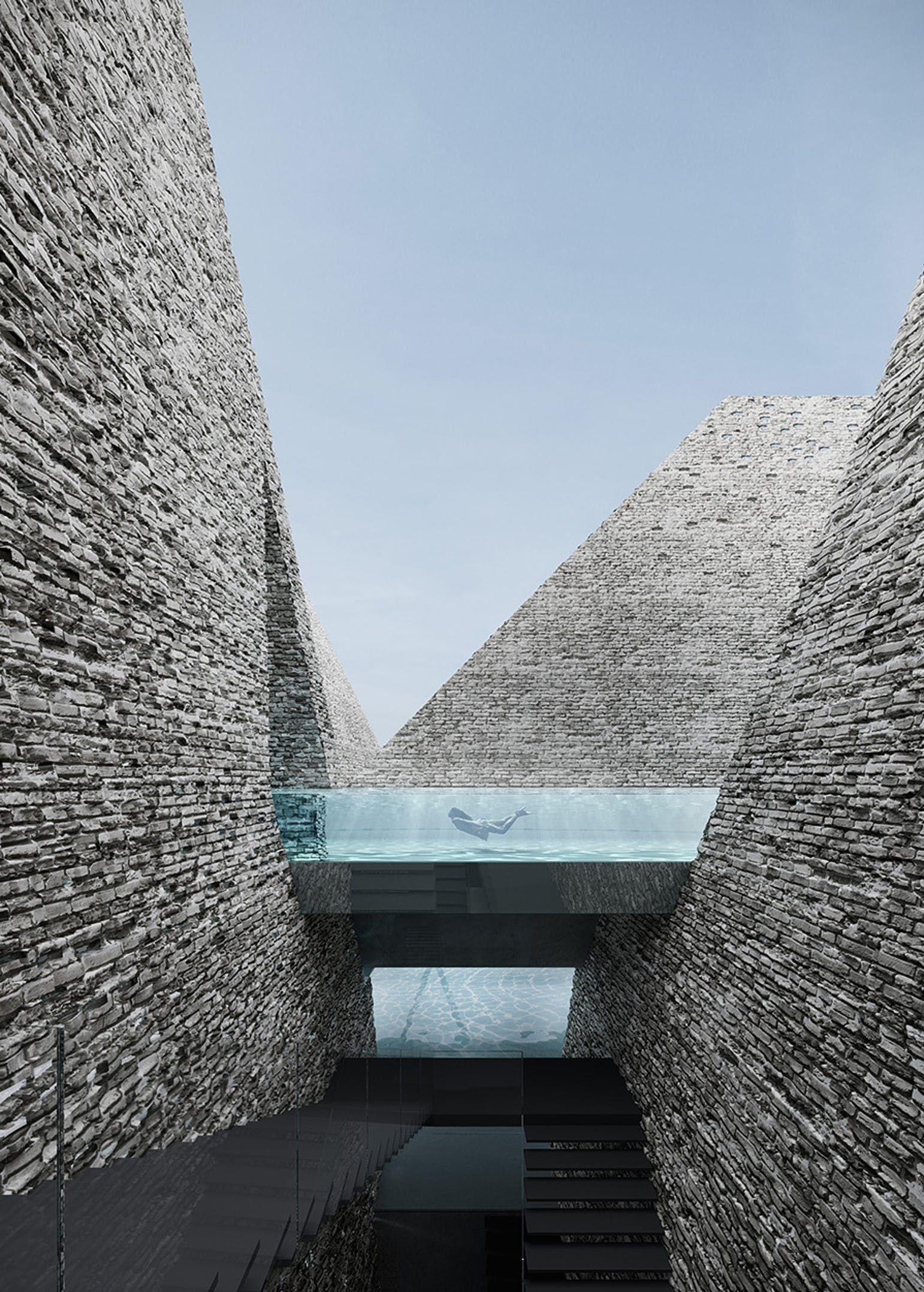 Kengo Kuma Design Wins Papir 248 En Water Culture House