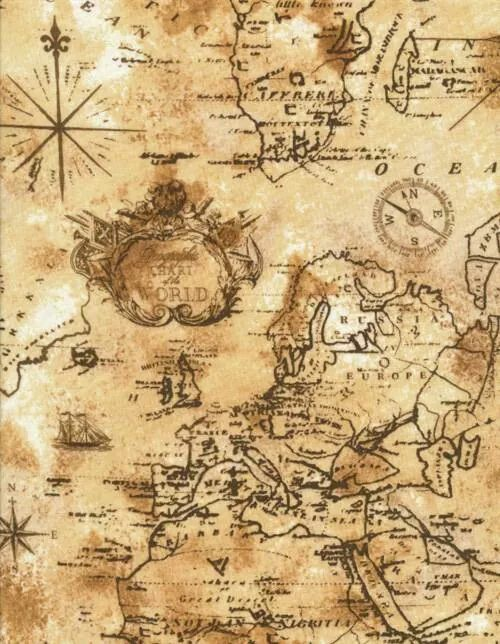 Pin by marvin bentley on pirates mermaids and faires pinterest i think i would like a dress out of treasure map fabric gumiabroncs Images