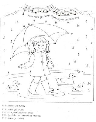 LDS Nursery Color Pages: 9 - I Am Thankful For Water ...