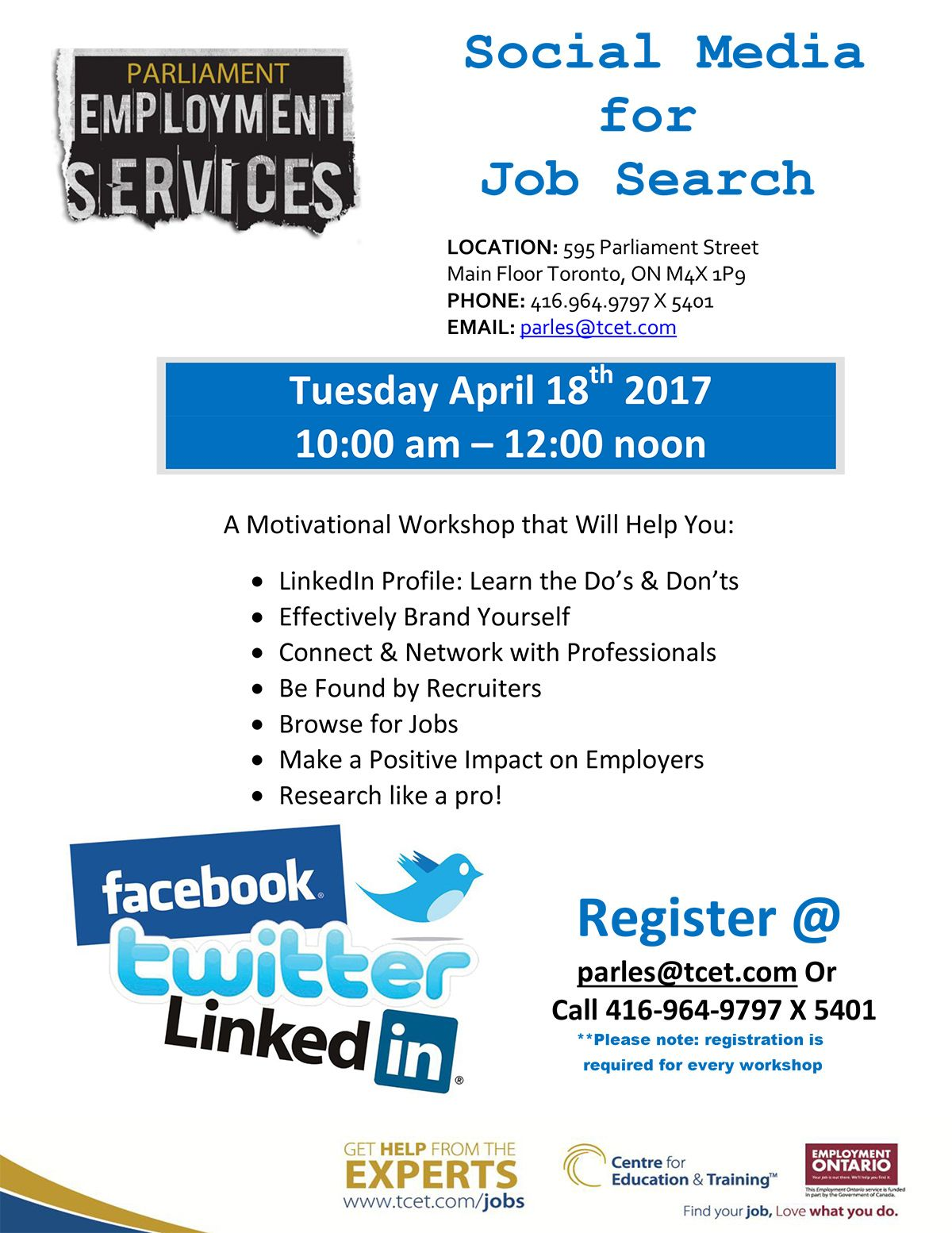 Are You Looking For Work And Not Sure If Social Media Is The Right Place For Your Job Search Wh Online School Organization Online Social Networks Service Jobs