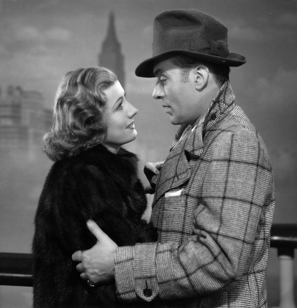 """""""Love Affair"""" with Irene Dunne & Charles Boyer. Later a remake was made and called """"An Affair to Remember"""", then again, to a degree, """"Sleepless In Seattle""""."""