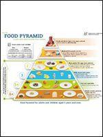 Food pyramid for adult impossible