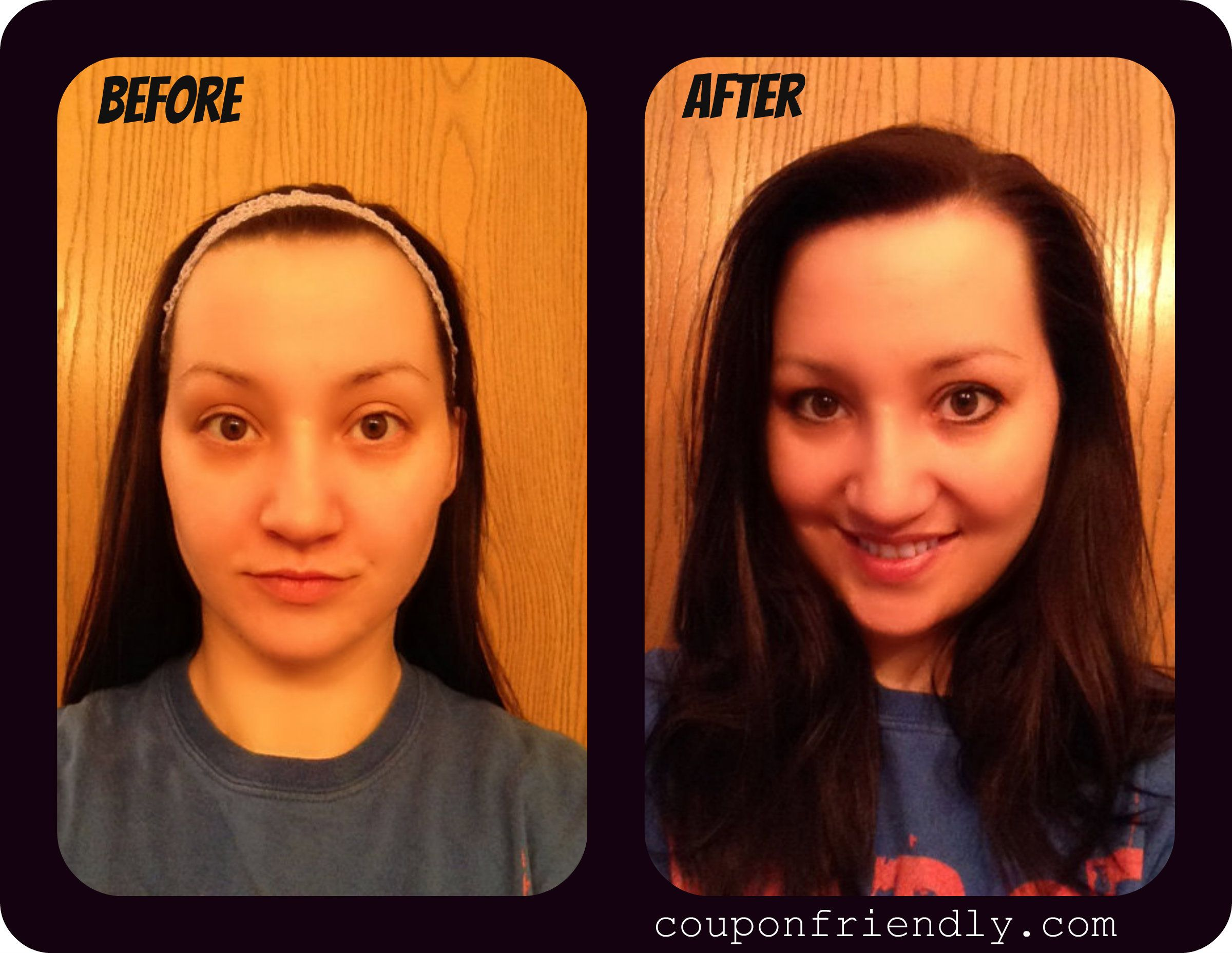 Thanks @Coupon Friendly for the review! Great makeover! Glad you liked our m.vie Mineral Makeup.