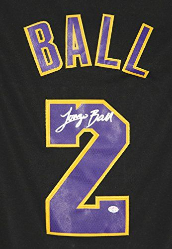 ccb767bbbb2 Lonzo Ball Los Angeles Lakers Signed Autographed Black  2... NBA basketball  click to get more information or how to purchase