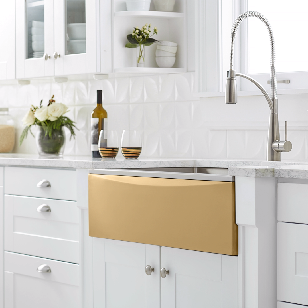 One sink. Seven different looks. Switch up your kitchen's