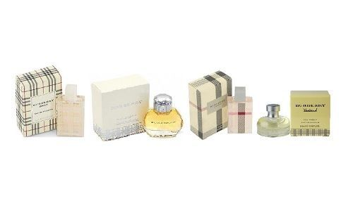 Selection Of Mini Burberry Women Fragances Perfume New In Box
