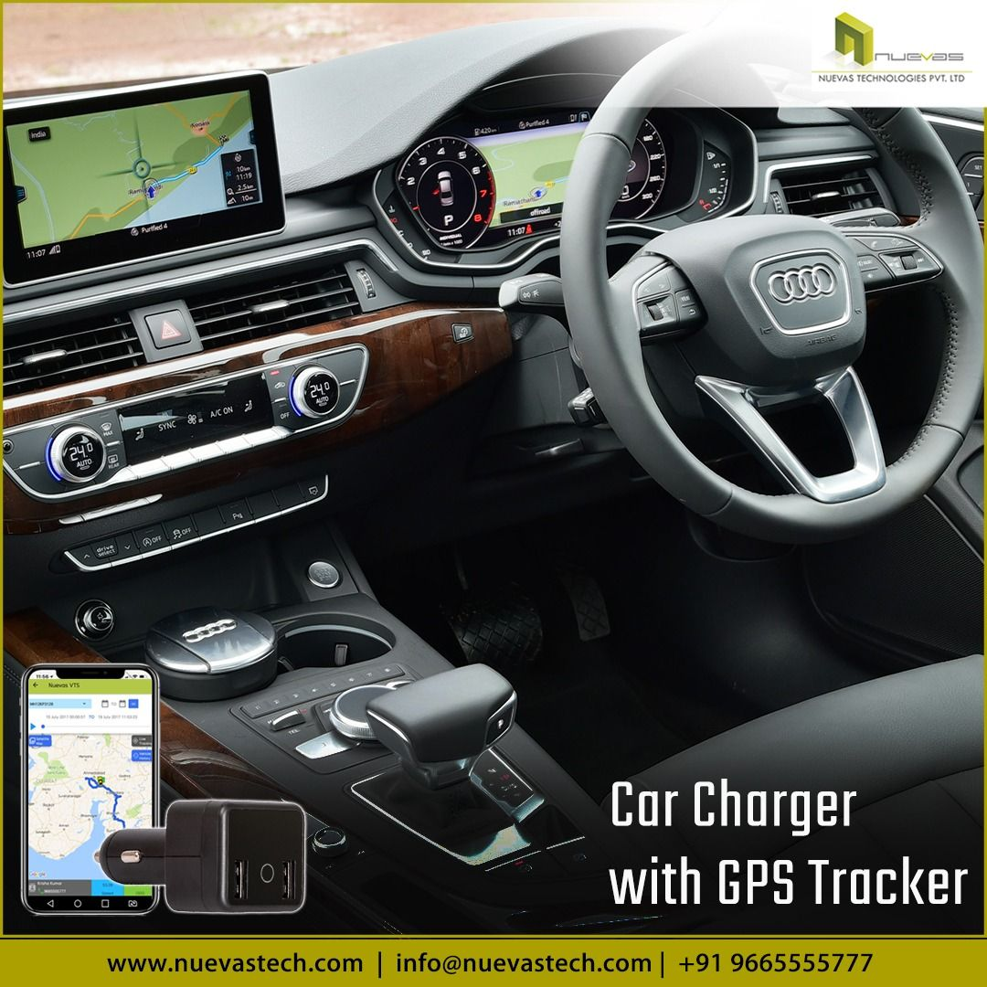 Get An Advanced 2 In 1 Car Accessory Car Charger Gps Tracker