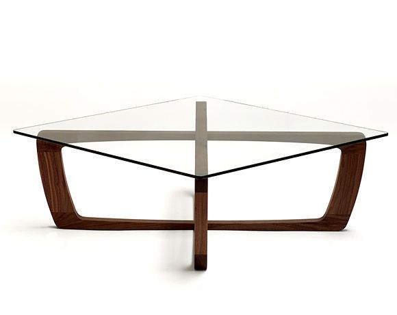 Wood Table Bases | Coffee Table / Contemporary / Glass / Wooden Base  KUSTOM. Bark