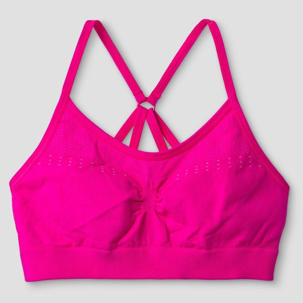 Girls C9 Champion Sports Bras Pink S, Girl's Cami bra