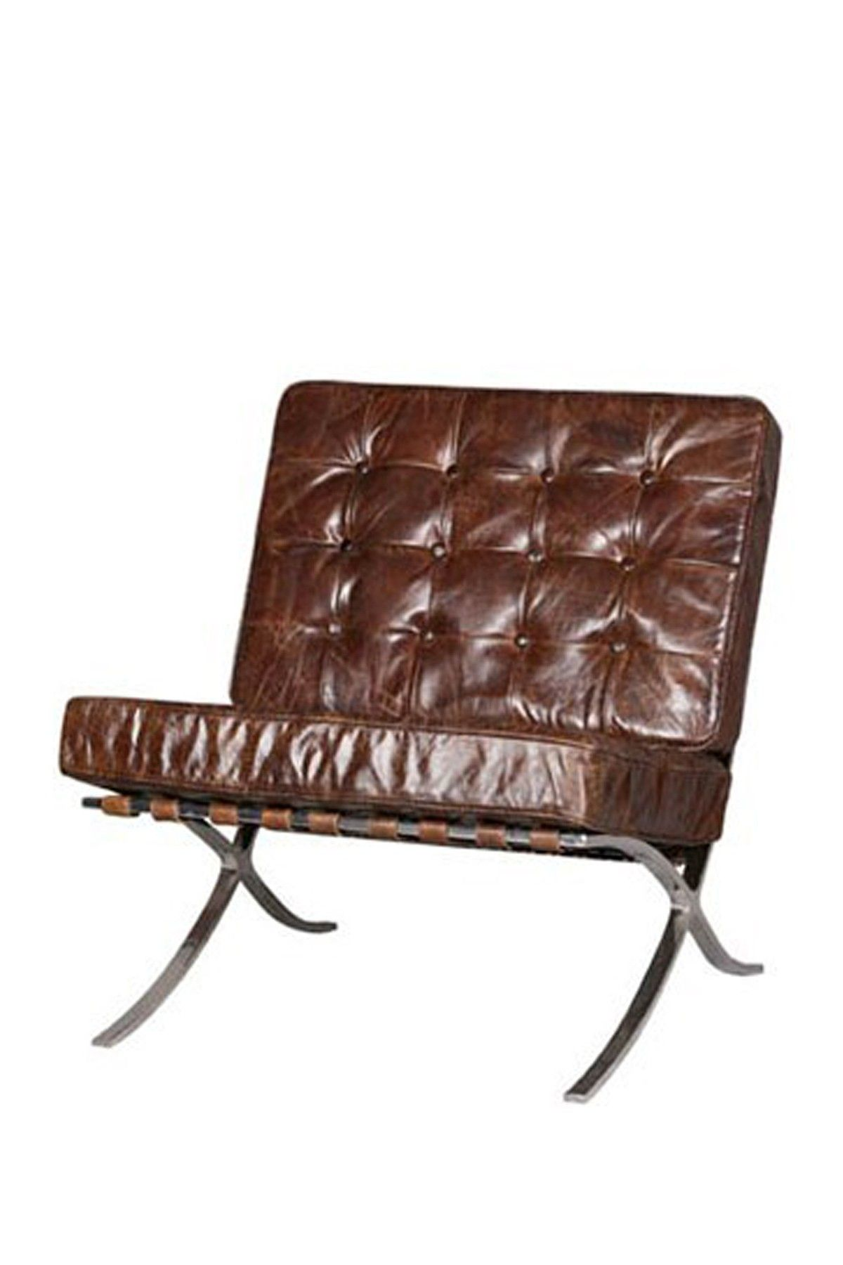 Best Vintage Brown Leather Webb Modern Desk Chair Modern Desk 400 x 300