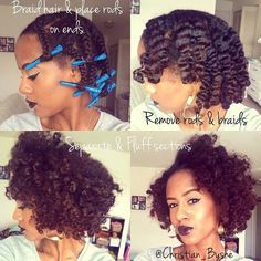 Braid Out On Relaxed Hair Google Search Hair Styles Relaxed