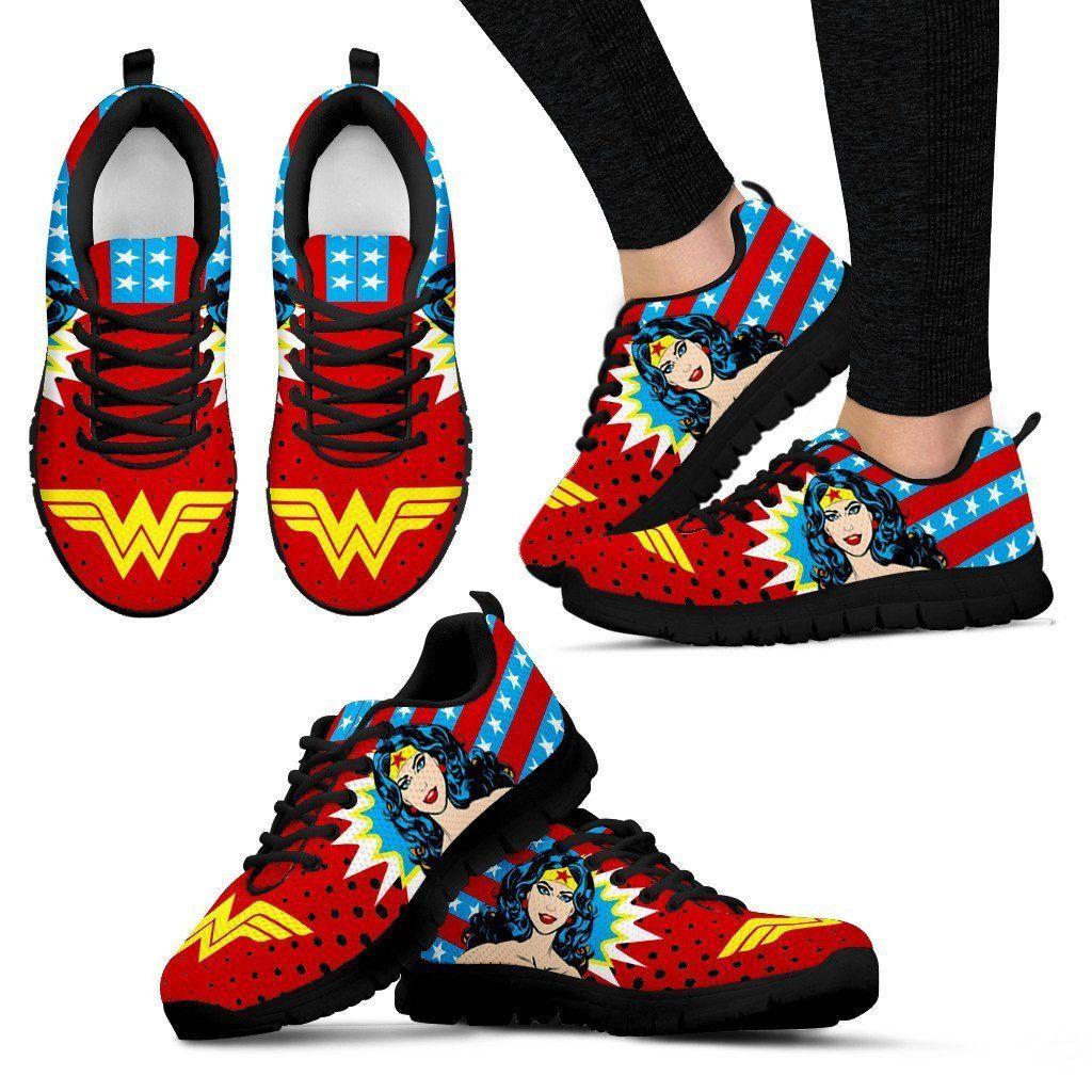 Wonder Woman Sneakers – Merch Factory Store