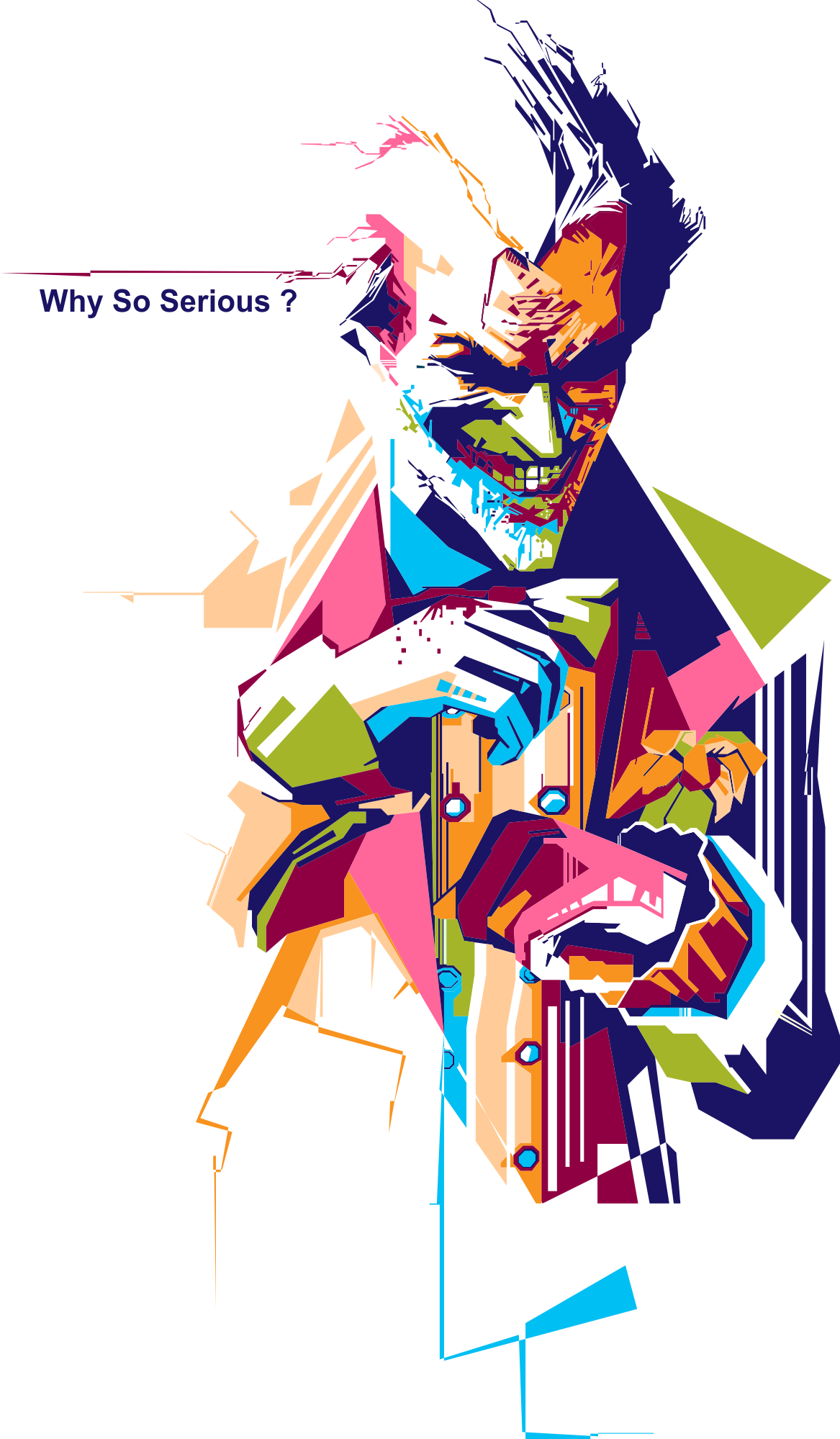 Why So Serious On Behance Dharti Baksho Us Dharti Par Rehkar Use Gaali Dena Aur Kuch U Khilane Ka Prayas Tumhe Purusha In 2020 Joker Drawings Joker Artwork Joker Art