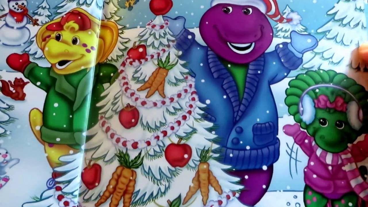 barney s christmas surprise