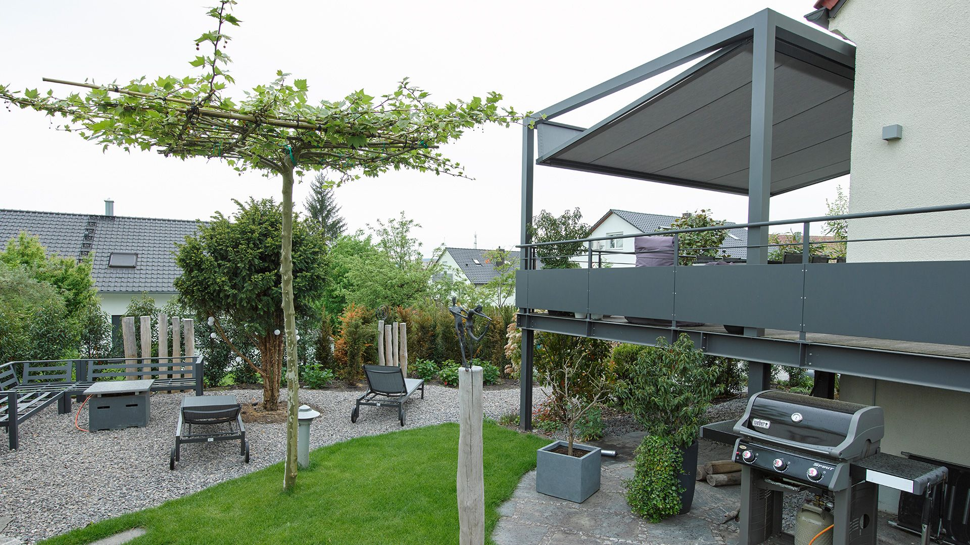 Eleganter Sonnenschutz F R Freisitz Und Garten Lounge Beschattungen, Pergolen, Sonnen Schirme