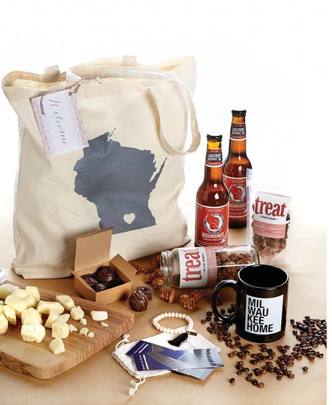 Gifts For Out Of Town Wedding Guests: Wisconsin You're Welcome: Gift Bags For Guests