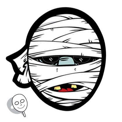 Mumien-Maske | Zum Ausdrucken | Pinterest | Ausdrucken, Halloween ...