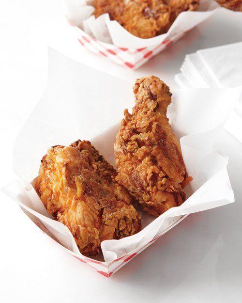 Classic Fried Chicken Recipe Fried Chicken Chicken Recipes Martha Stewart Food