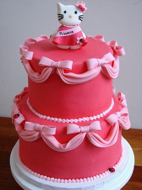 Creative Hello Kitty Birthday Cakes For Girls