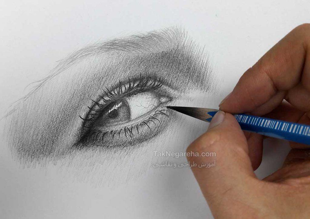 نقاشی طراحی دخترانه آسان
