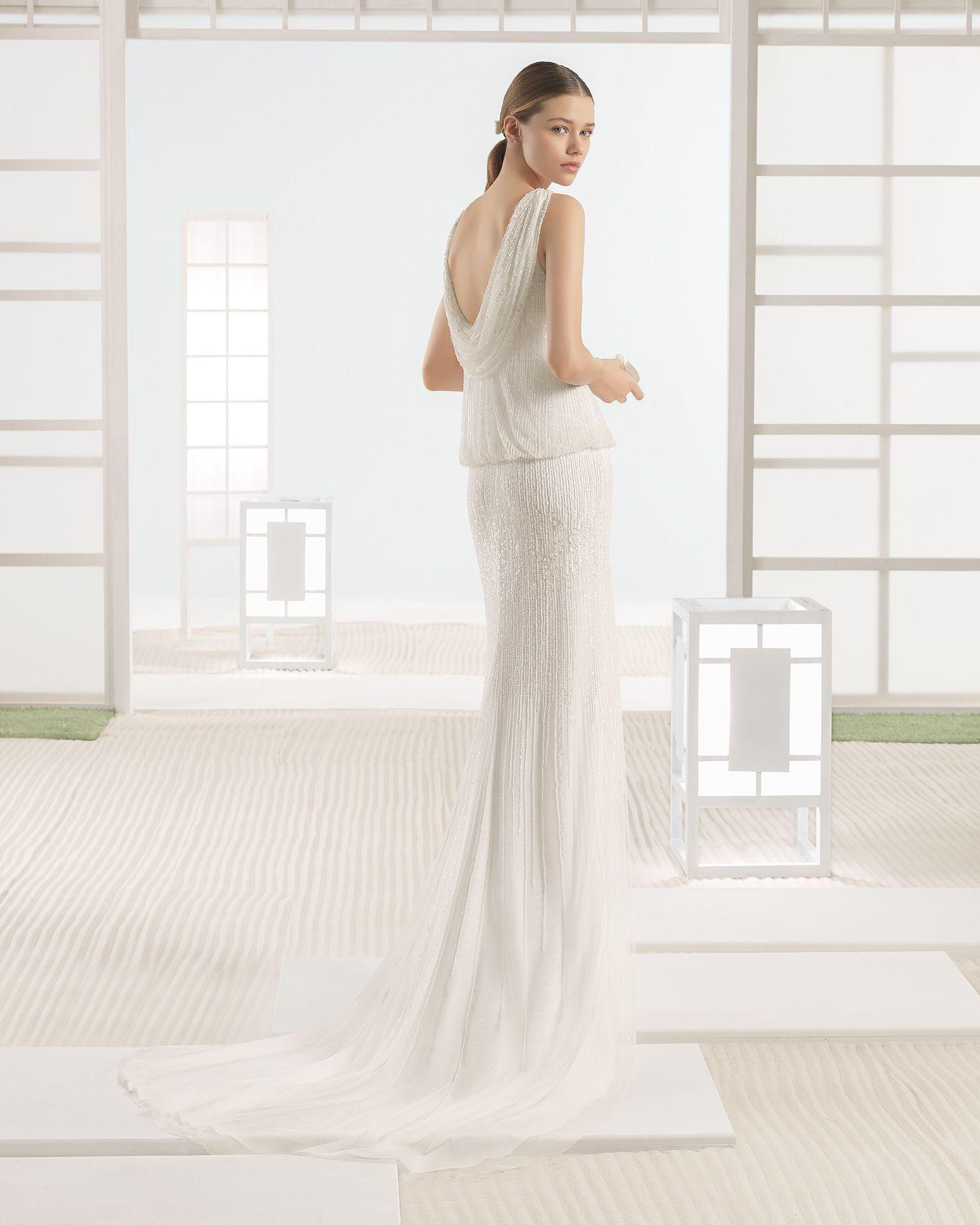 Wynet novia colección rosa clará soft bridal collection