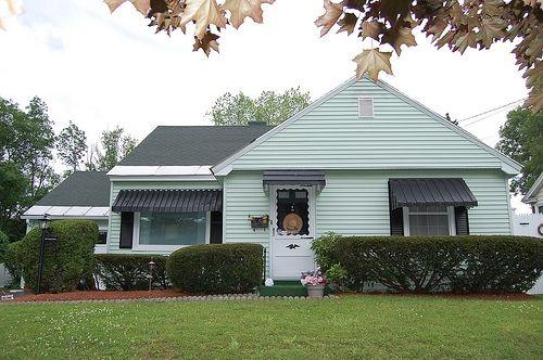 Dark Green Metal Awnings House Awnings Aluminum Awnings Metal Awnings For Windows