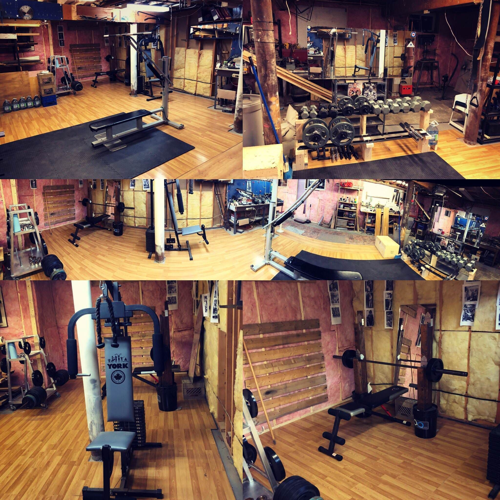 My DIY Basement Gym #basementhomegymsmall (With Images