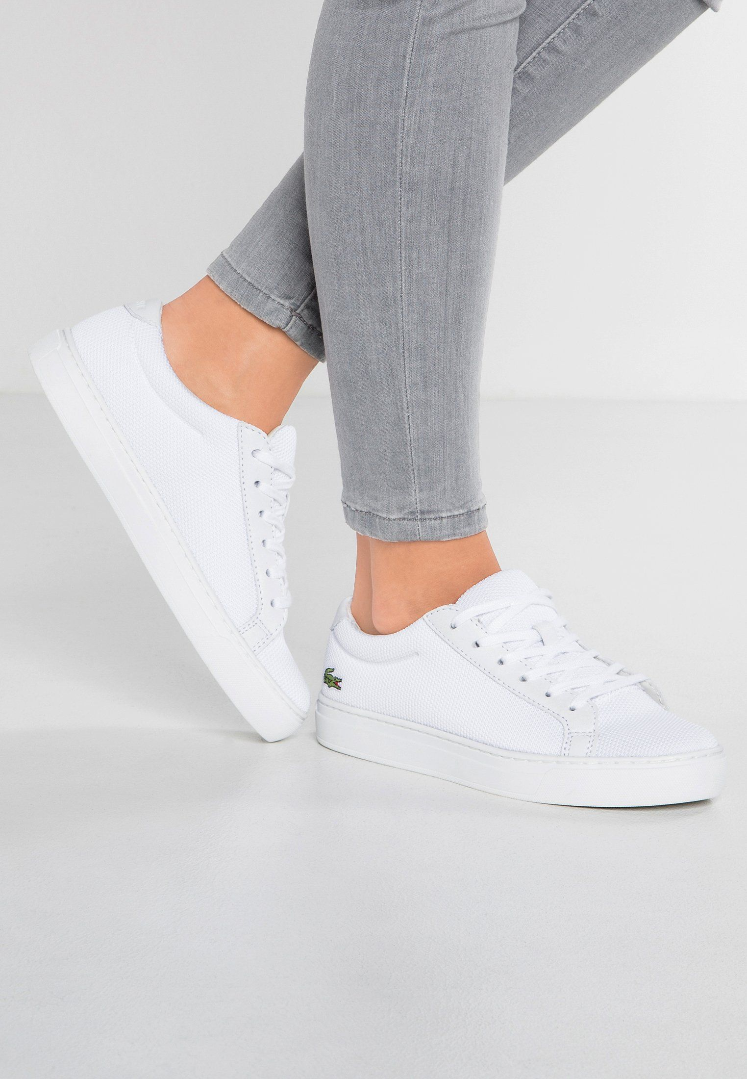fb6c838be Lacoste L.12.12 - Sneakers - white - Zalando.se
