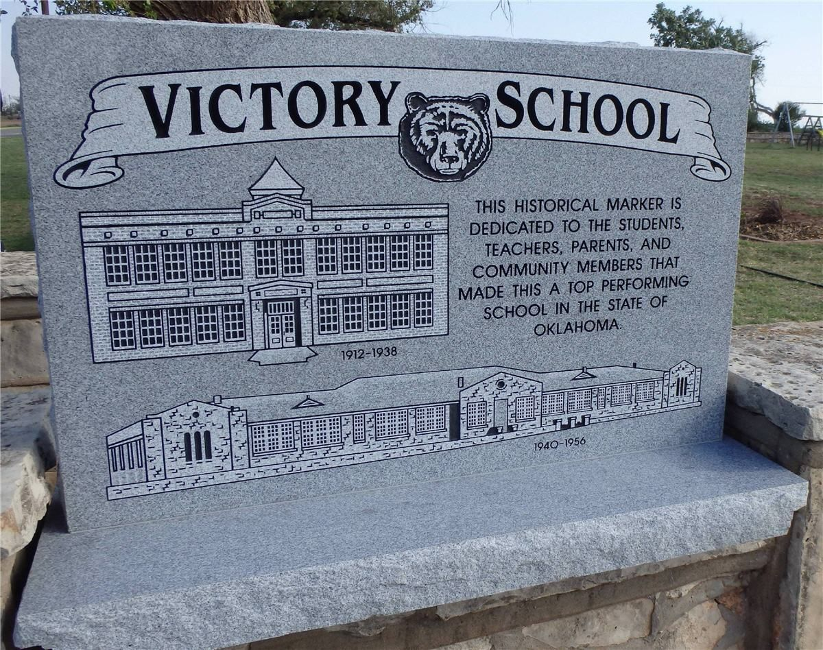 Victory School Historical Marker Historical Marker Markers Historical