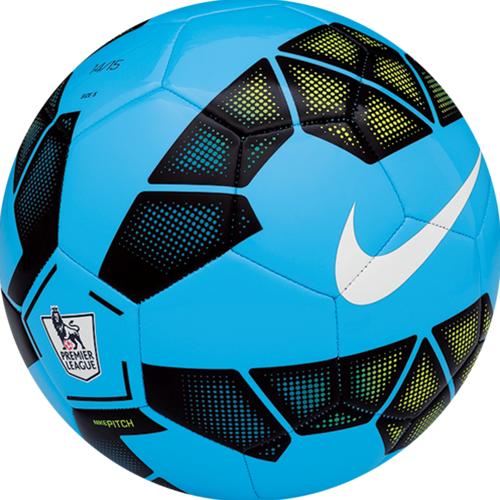 Nike Pitch Epl Ball Blue Black Volt Soccer Premier League Football Soccer Ball