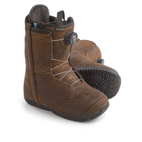 Burton X Frye BOA® Snowboard Boots - Leather (For Women)