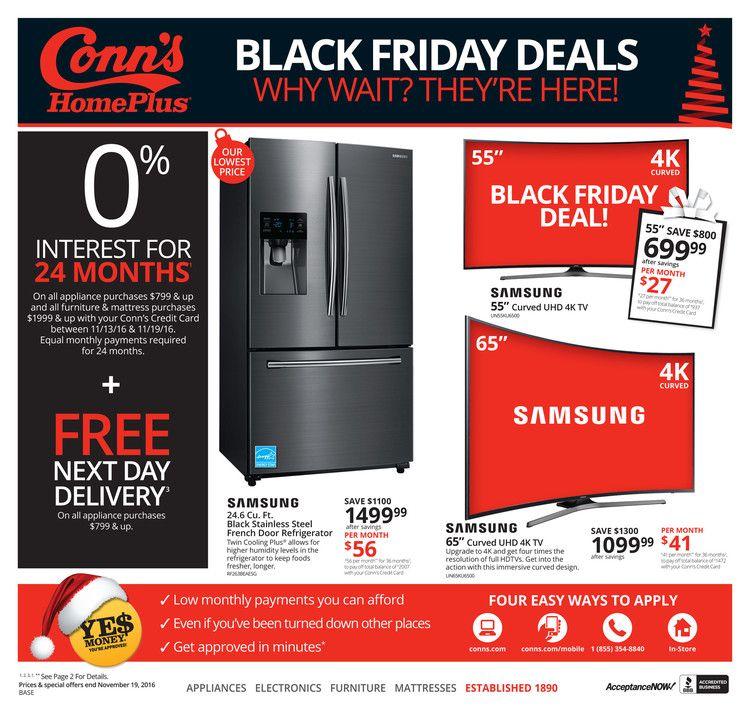 black friday deals at conns