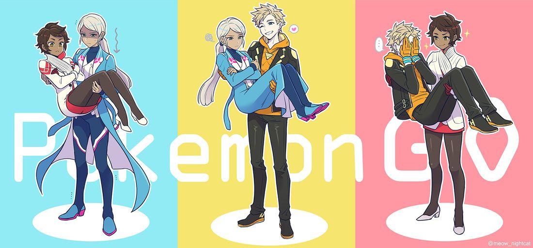 Pokemon go pokemon teams pokemon go comics pokemon