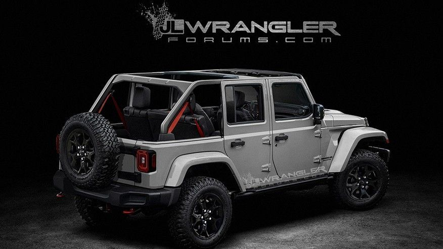 Leak Reveals 2018 Jeep Wrangler Will Get Power Top And All Wheel