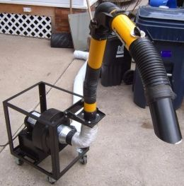 Fume Extractor Homemade Fume Extractor Constructed From
