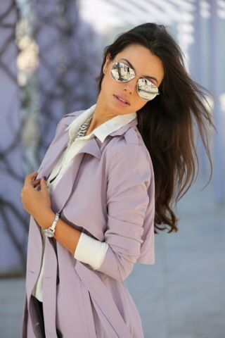 Moda Ray Ban Aviator Flash Lenses Vogue Is Art Moda Stilleri Kadin Moda