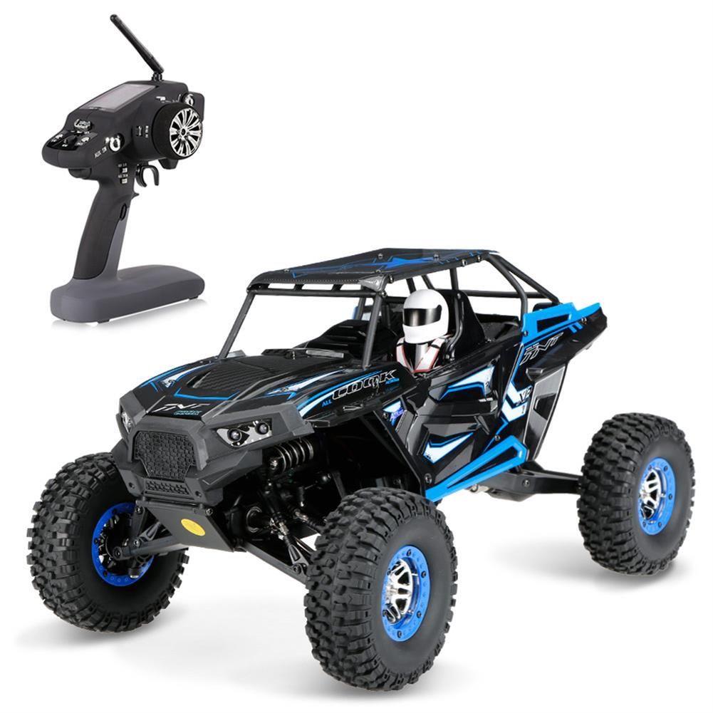 Shopping Wltoys 10428b 1 10 2 4g 4wd 30km H Rc Car Rock Crawler Vehicle Climbing Truck Rtr Model Online Rcbuying Rock Crawler Rc Cars Outdoor Toys For Kids