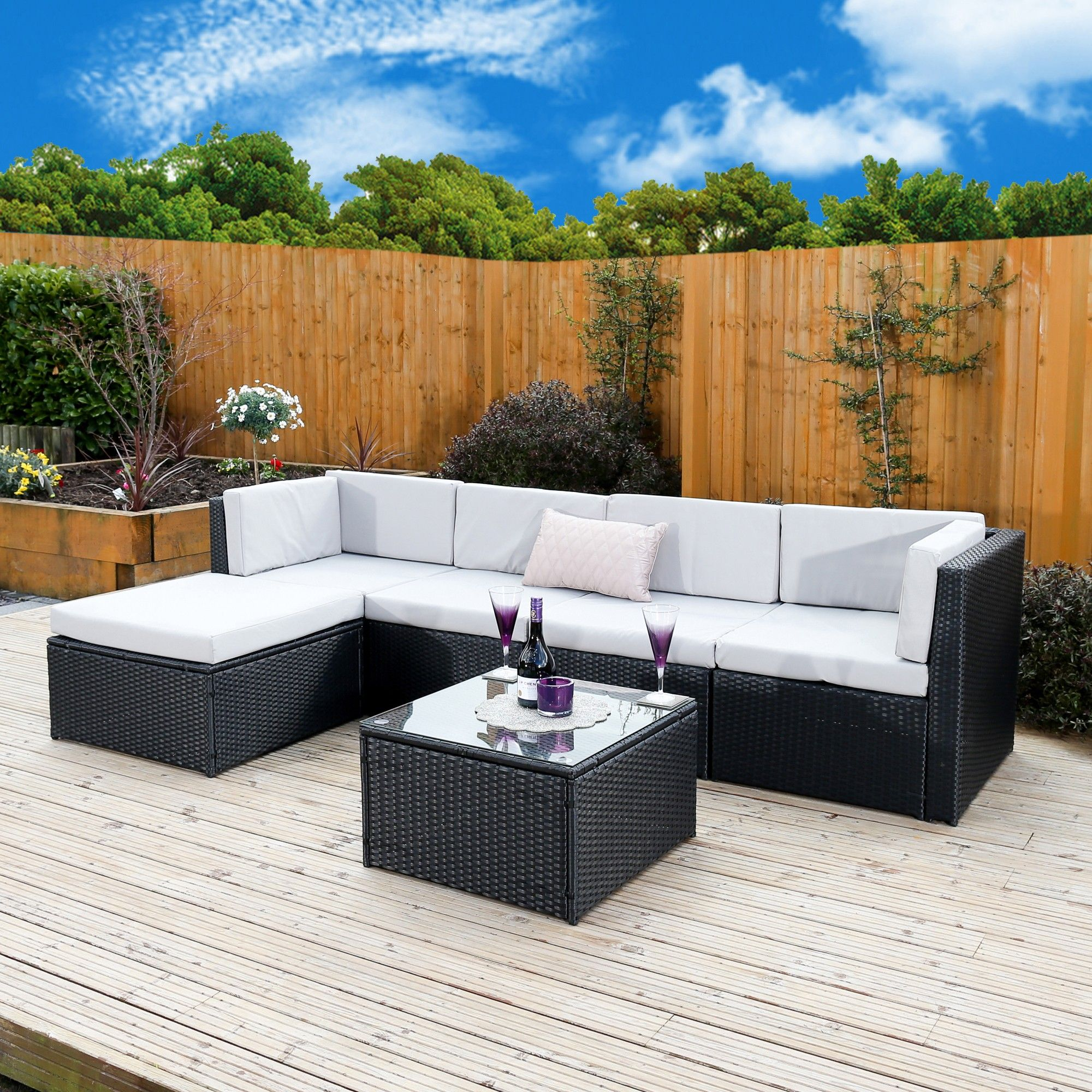 find this pin and more on black rattan garden furniture sets