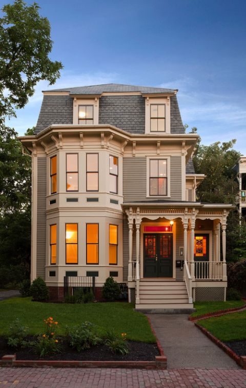 Home Exterior What S Your Favorite Style Town Country Living Victorian Homes Exterior Modern Victorian Homes House Exterior