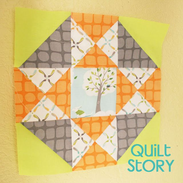 Quilt Story: April's Block of the Month: HST