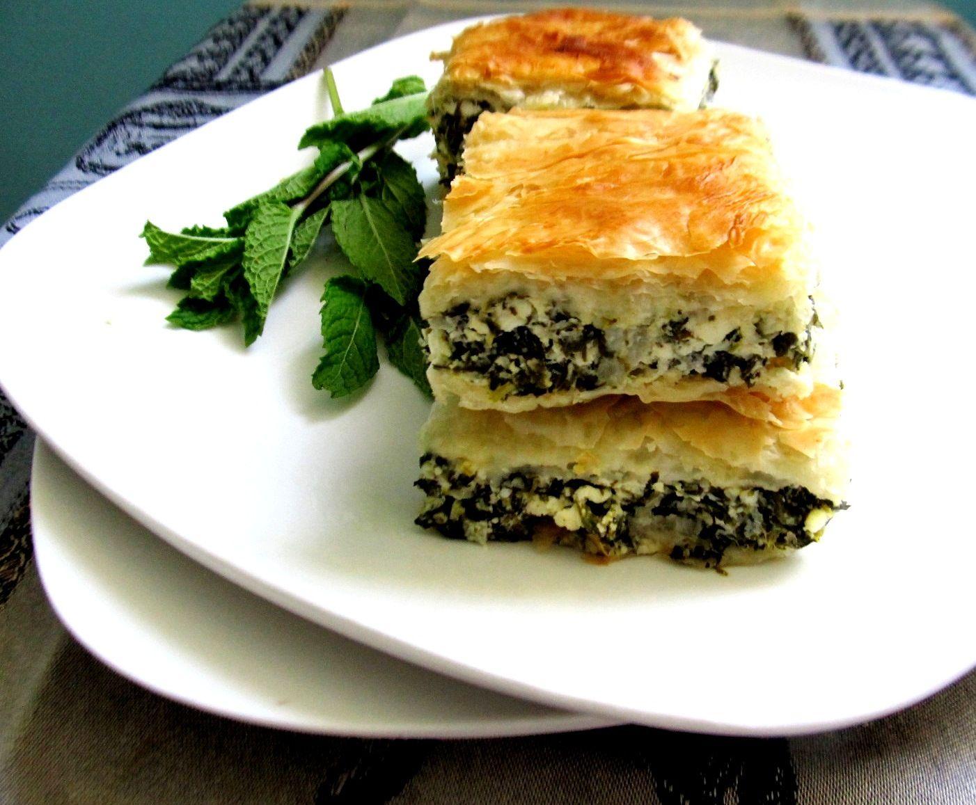 food and thrift: Spanakopita (Greek Spinach Pie)