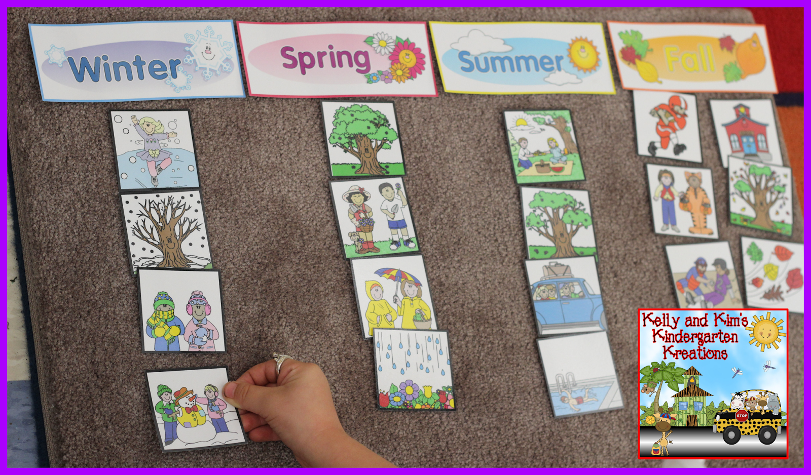 Learning About The Four Seasons In Your Early Childhood Classrooms Rting Seasonal Pictures