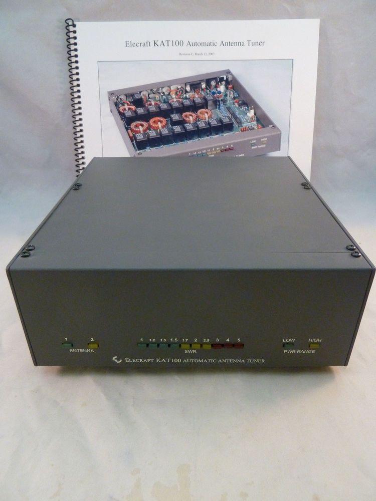 Elecraft KAT100-2 Automatic Antenna Tuner with Manual Ham Radio