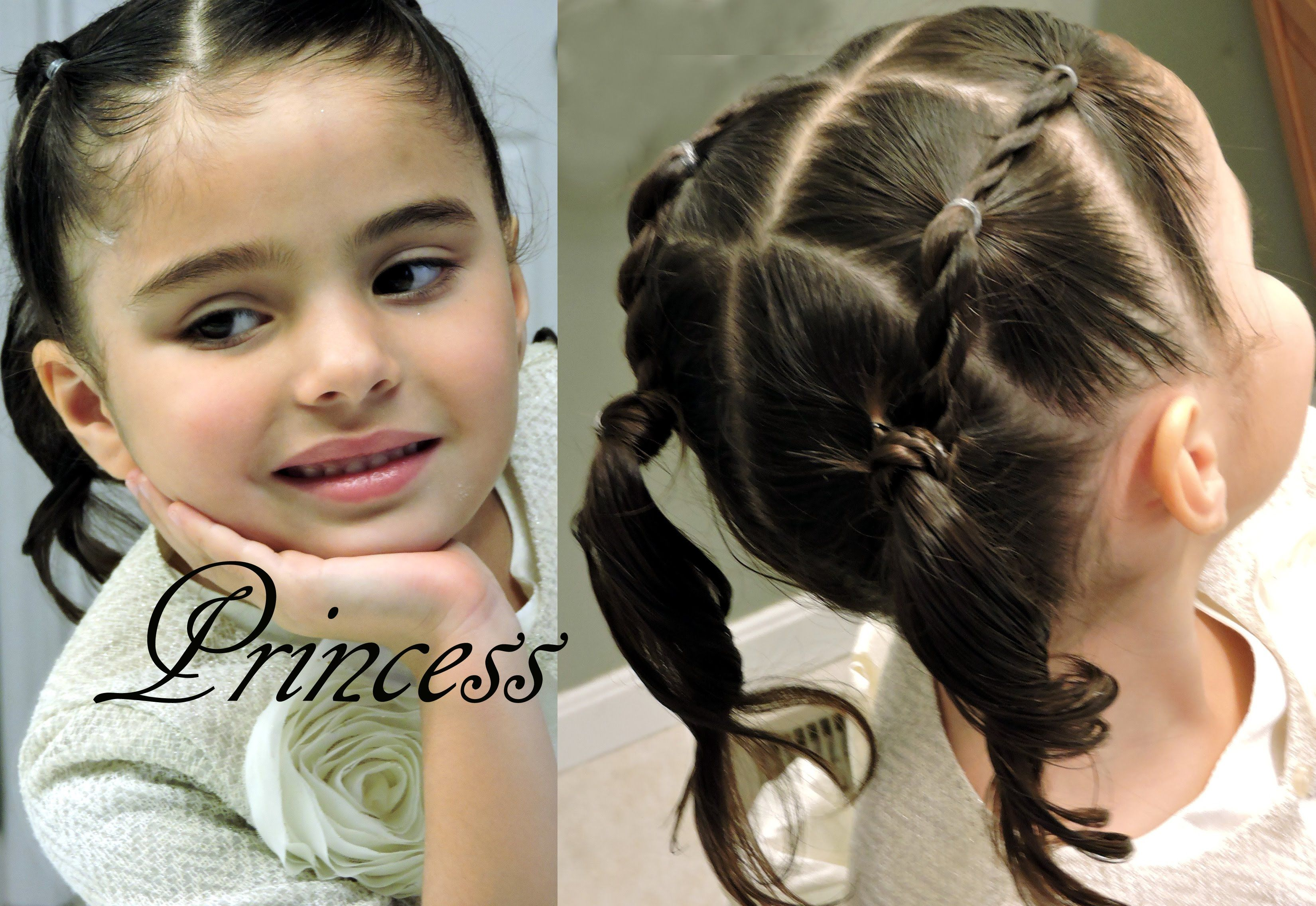 Video Paso A Paso Peinado Infantil De Ligas Video Tutorial Two Side Rope Twists For Little Girls Check Www 2superdivas Com Hairdo Beauty Fashion