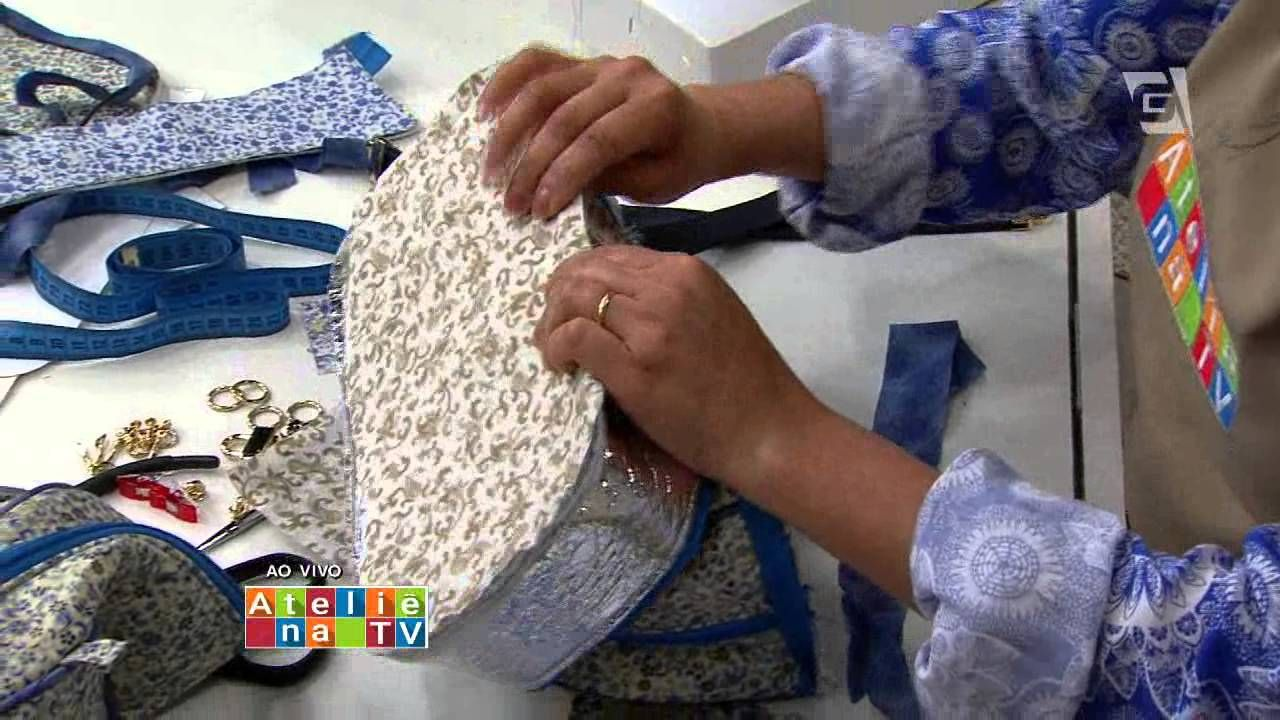 Ateliê na Tv - TV Gazeta 04.08.2015 - Maria Adna