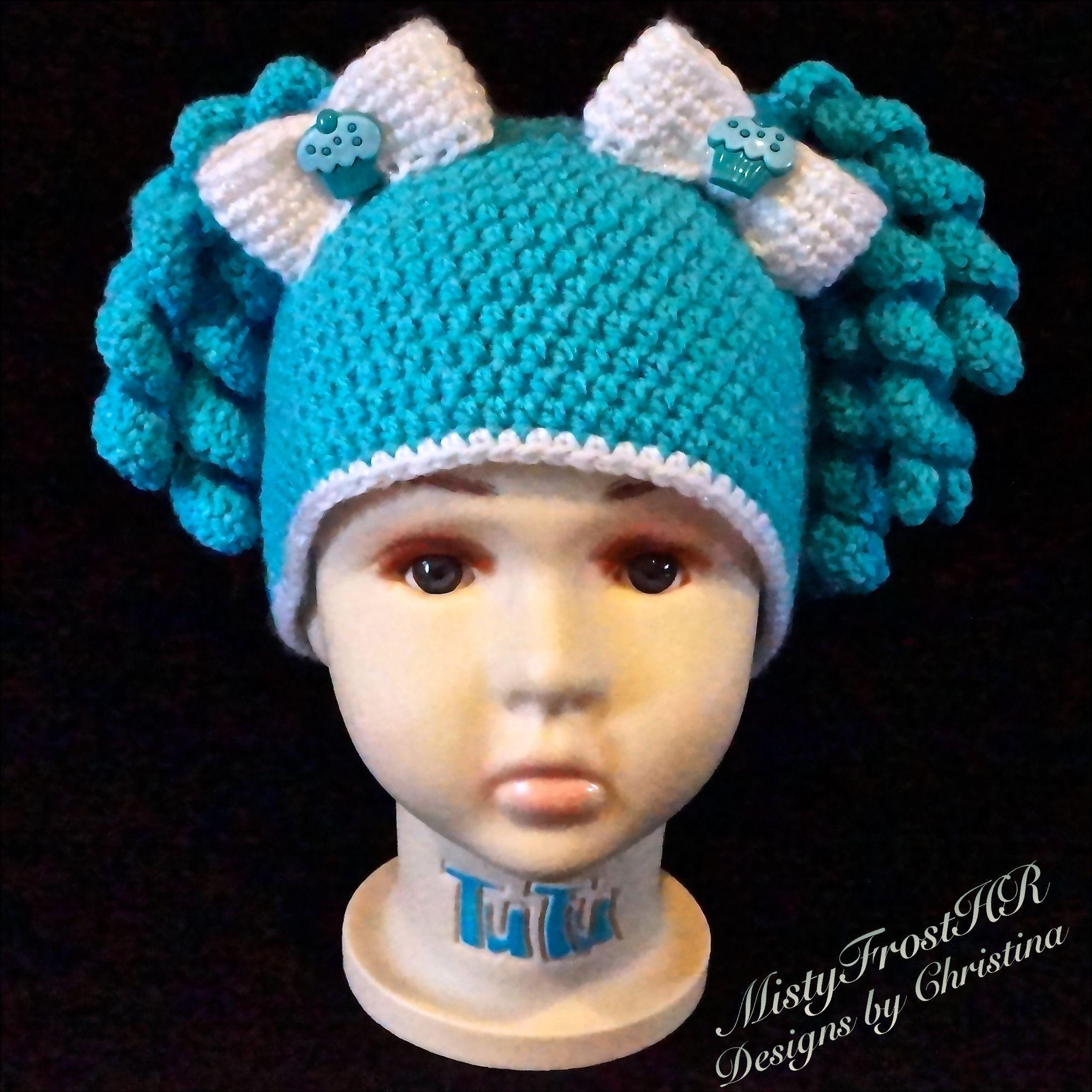 Candy Shop Pig Tail Hats   knitting   Pinterest   Gehäkelte mützen ...